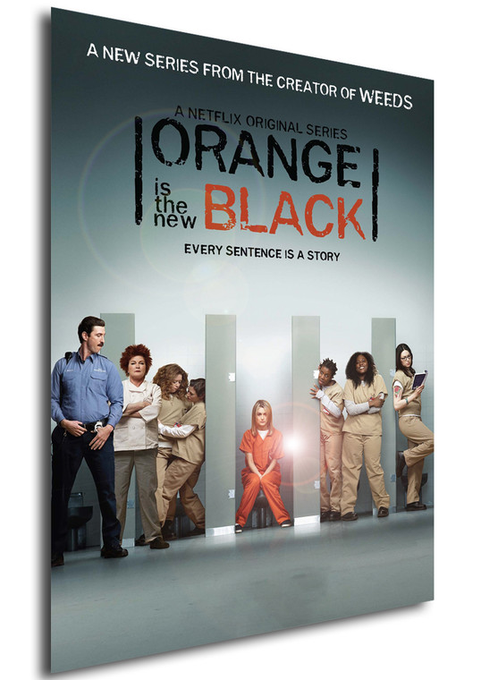 Poster - Serie TV - Locandina - Orange is the New Black - Stagione 1