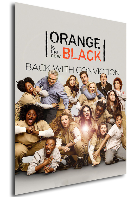 Poster - Serie TV - Locandina - Orange is the New Black - Stagione 2