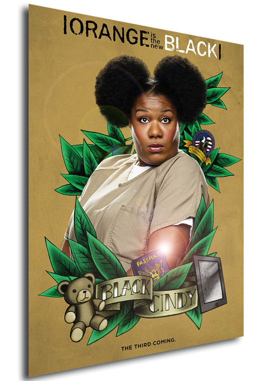 Poster - Serie TV - Locandina - Orange is the New Black - Stagione 3 - Black Cindy