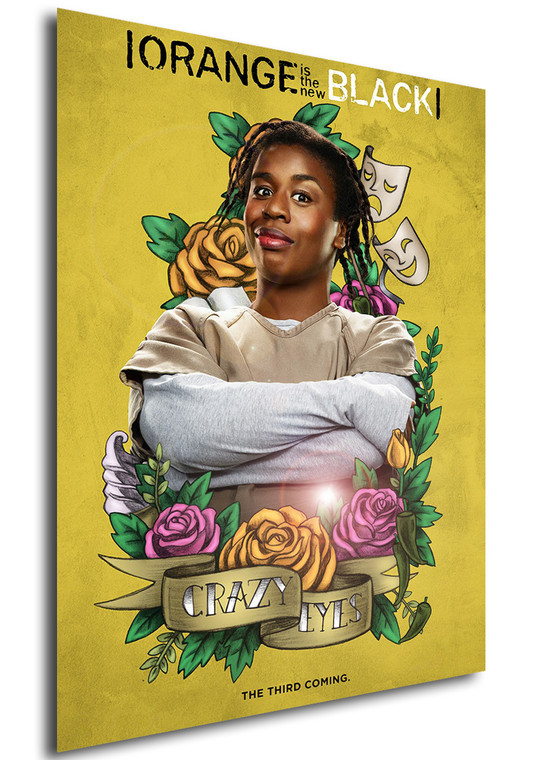 Poster - Serie TV - Locandina - Orange is the New Black - Stagione 3 - Crazy Eyes
