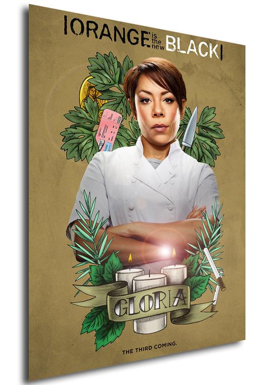 Poster - Serie TV - Locandina - Orange is the New Black - Stagione 3 - Gloria