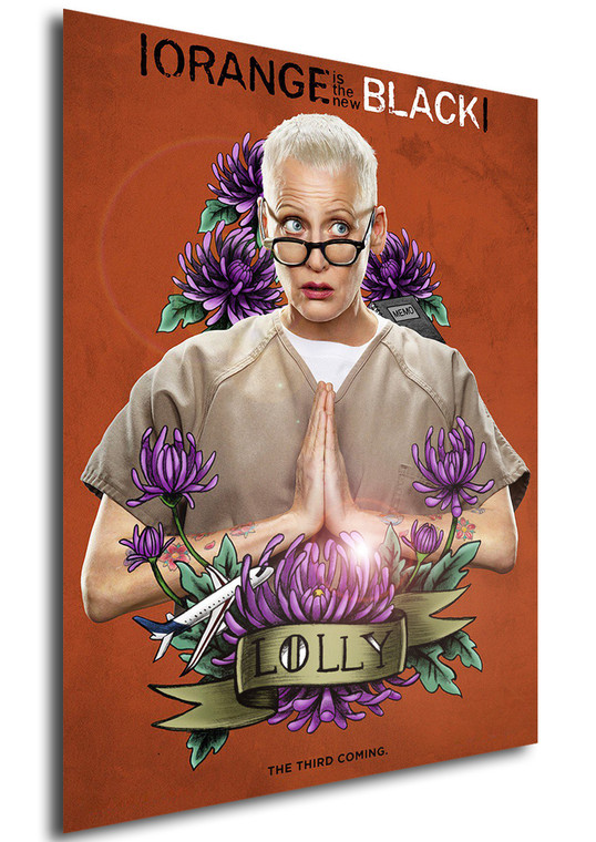 Poster - Serie TV - Locandina - Orange is the New Black - Stagione 3 - Lolly