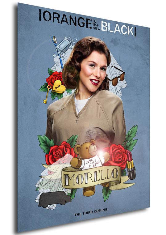 Poster - Serie TV - Locandina - Orange is the New Black - Stagione 3 - Morello