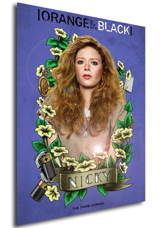 Poster - Serie TV - Locandina - Orange is the New Black - Stagione 3 - Nicky