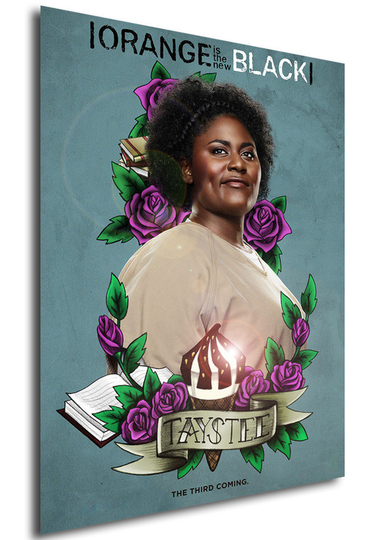 Poster - Serie TV - Locandina - Orange is the New Black - Stagione 3 - Taystee