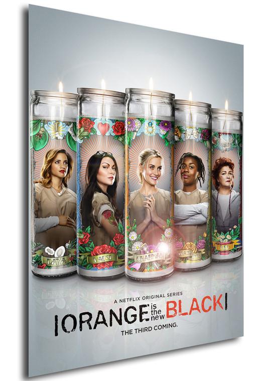Poster - Serie TV - Locandina - Orange is the New Black - Stagione 3