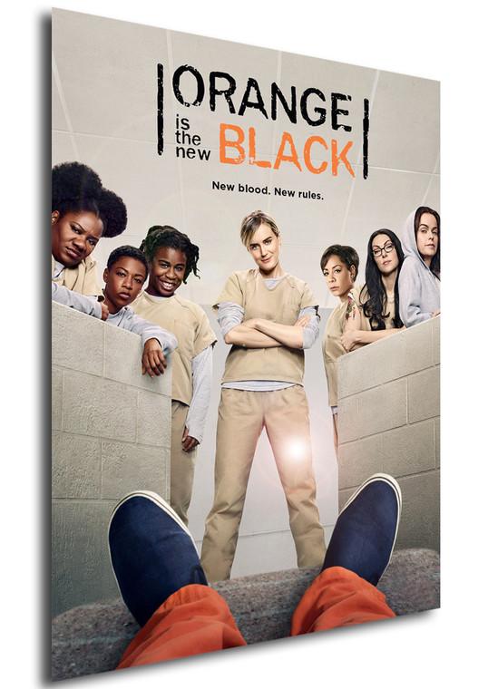 Poster - Serie TV - Locandina - Orange is the New Black - Stagione 4