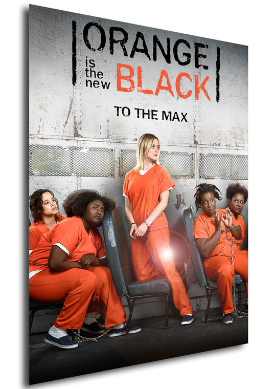 Poster - Serie TV - Locandina - Orange is the New Black - Stagione 6