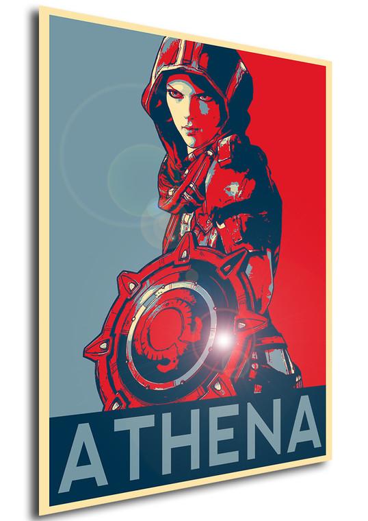 Poster - Propaganda - Borderlands - Athena C