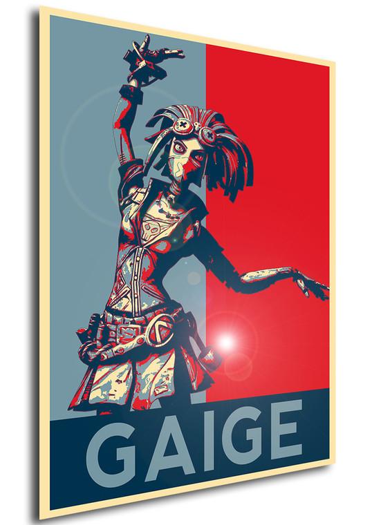 Poster - Propaganda - Borderlands - Gaige C