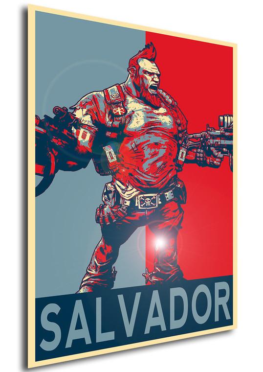 Poster - Propaganda - Borderlands - Salvador B