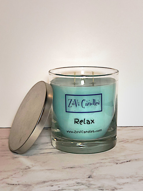 Relax, Candle, Spa, Green Clover & Aloe, Beach Club, Disney Inspired Candle