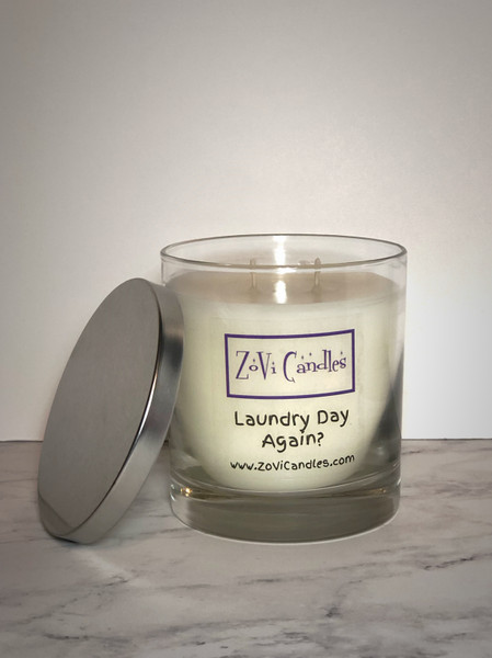 Laundry Day Again?, Candle, Fresh Linen, Dryer Vent
