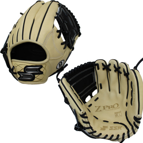 """SSK Limited Edition Javy Baez ZPro 11.25"""" Infield Baseball Glove ZPJAVY-1125CMLBLK2"""