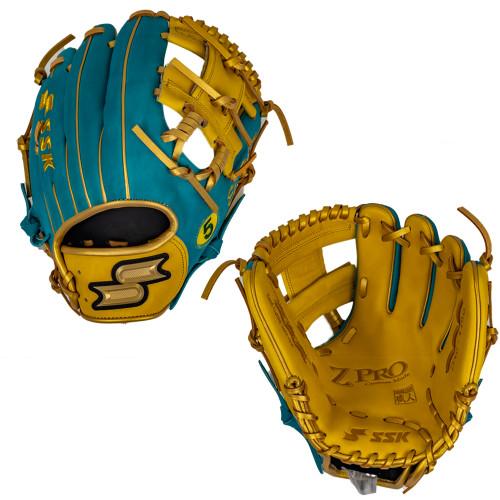 "SSK Limited Edition Wander Franco ZPro 11.5"" Infield Baseball Glove ZPWANDER-1150TEAL1"
