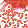 Heart Shaped Acrylic Table sprinklers (100g)