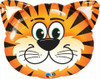 Supershape Tickled Tiger Foil Balloon (30 Inch)