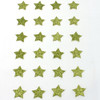 DIY Self Adhesive Green Star Stickers (24)