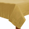 Gold Plastic Tablecover (1.4mx2.8m)