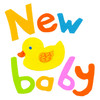 New Baby Duck Greeting Card (1)