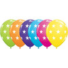 Big Stars Assorted Latex Balloons (6)