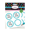 Candy Buffet Scalloped Labels Caribbean Blue (20)