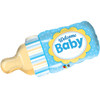 Welcome Baby Boy Bottle Supershape Personalise (39in)