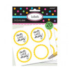 Candy Buffet Scalloped Labels Yellow Sunshine (20)
