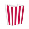 Candy Buffet Popcorn Treat Boxes Apple Red (5)