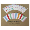 Toot Sweet Cake Wrappers (24)
