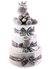 3 Tier Safari Zebra Nappy Cake