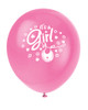 Pink Clothesline It's a Gir Latex Balloons (8)