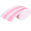 Powder Pink Striped Crepe Streamer (30ft)