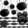 Room Decorating Pack Black