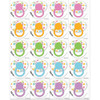 Pin the Dummy Floral Stickers (24)