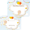 Floral Pin The Dummy Prediction Wishes Kit 16 Guests