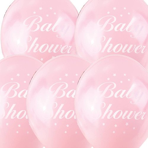 Baby Shower Pink Balloons (5)