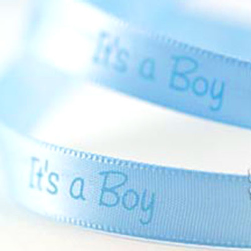 1m It's a Boy Ribbon