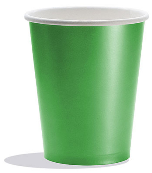 Green Coloured Cups (8)