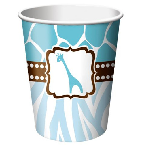 Baby Boy Safari Cups