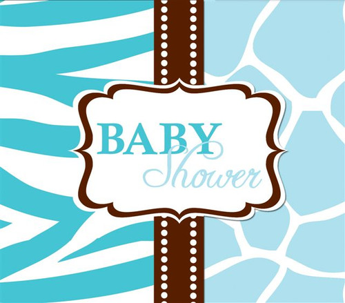 Baby Boy Safari Baby Shower Invites (8)