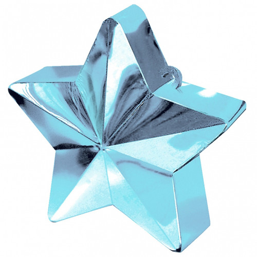 Balloon Weight Star Shaped Blue