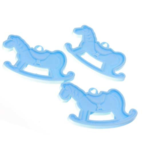 Rocking Horse Blue Balloon Weight (1)