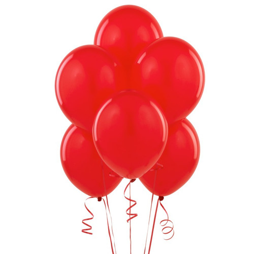 Red Latex Balloon (10)