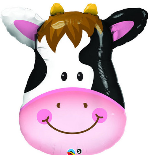 Supershape Cow's Smiling Face (32 inch)
