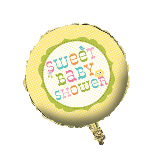 Woodland Happi Tree Baby Shower Foil Balloon (18in)