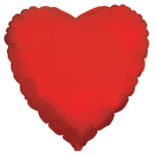 Red Heart Foil Balloon  (18 inch)