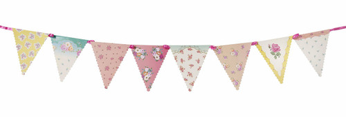 Truly Scrumptious Tea Party Floral Bunting (3m)