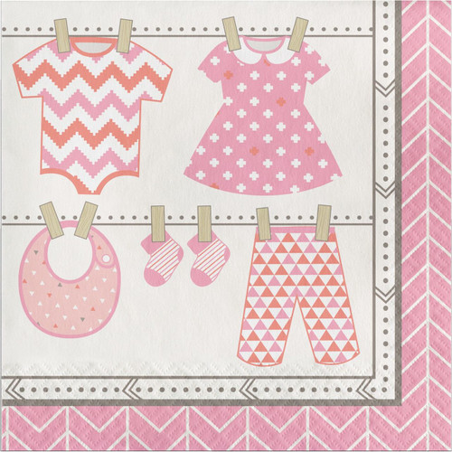 Bundle of Joy Girl Lunch Napkins (16)