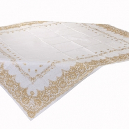 Porcelain Gold Tablecover